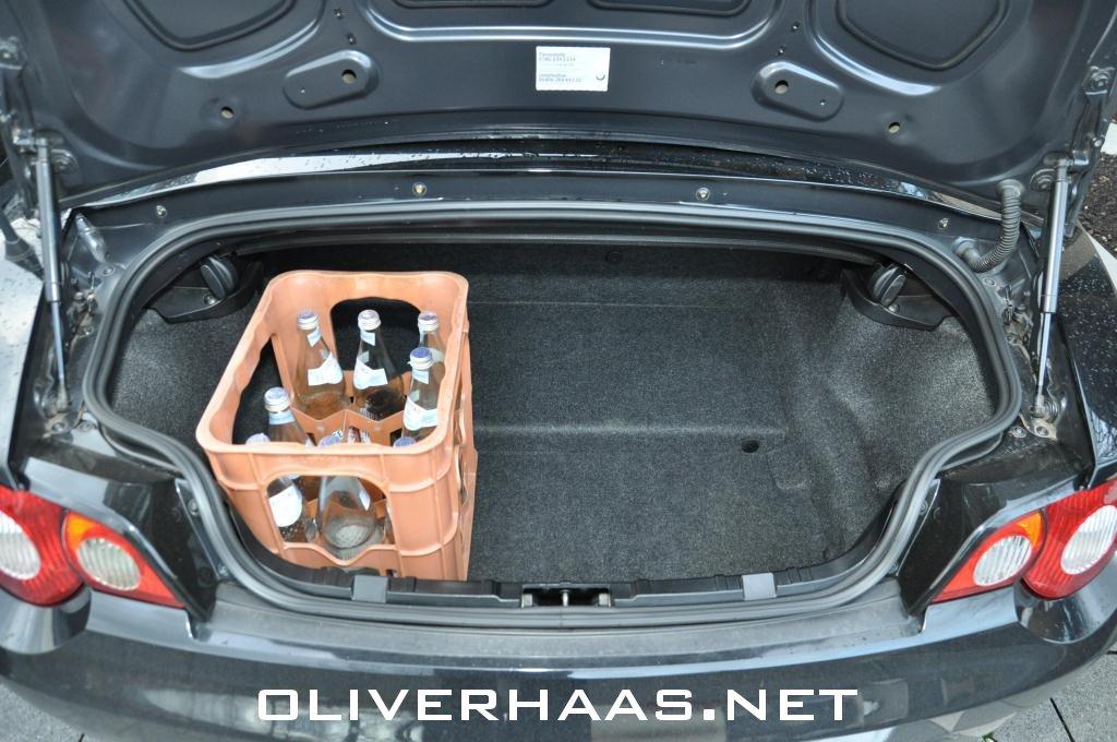 Bmw Z4 E85 Kofferraum Z4 Cabrio Roadster Kofferraumvolumen