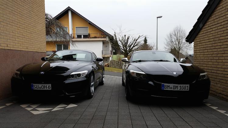 Z4 Facelift und Vor-Facelift Vergleich