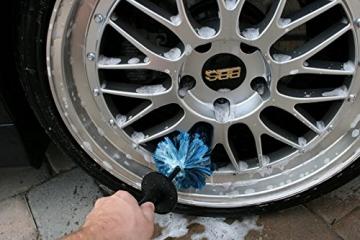 EZ Detail Brushes Auto-Rad- Reinigungsbürste - Fahrradbürste - Felgenbürste Waschbürste - 3