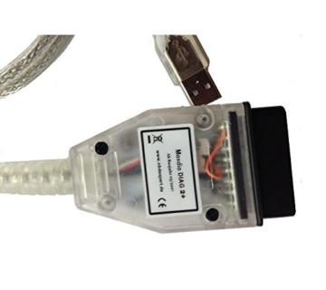 MaxDia Diag2+ - D-CAN - Diagnose-Interface - Für E-Modelle ab Baujahr 2007 - OHNE Software! - 1